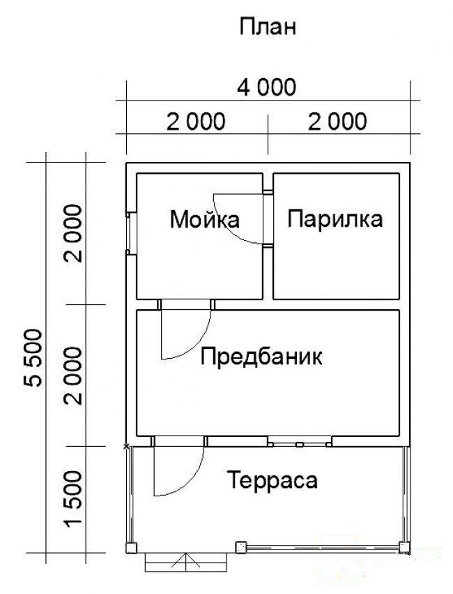 Баня КБ-57
